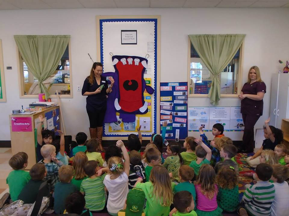 Petaluma Kids Dental Care Community Involvement - Dental Health Care Presentations