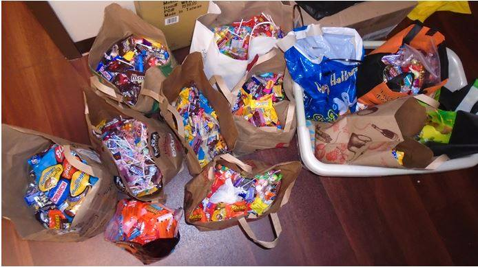 Petaluma Kids Dental Care Community Involvement - Halloween Candy Buy Back